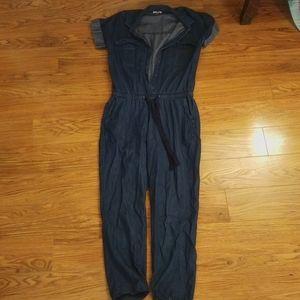 Old Navy Denim Jumpsuit/Romper